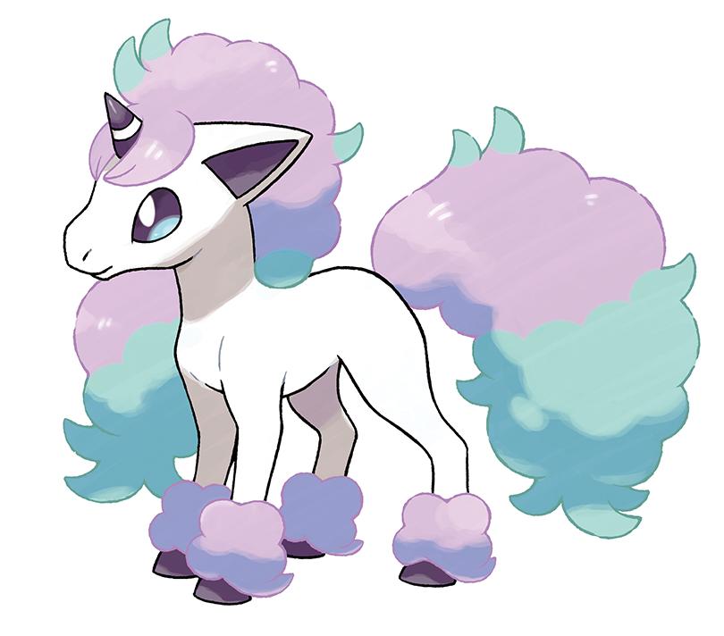 New Galarian Psychic Type Ponyta