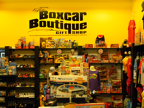 PLEASE VISIT  THE BOXCAR BOUTIQUE  AT THE MUSEUM AS WELL AS OUR FABULOUS COLLECTION & SPECIAL EXHIBITS, PLUS PARTICIPATE IN OUR MANY FAMILY ACTIVITIES.   VISIT THE NATIONAL MUSEUM OF TRANSPORTATION SITE FOR MORE DETAILS  .