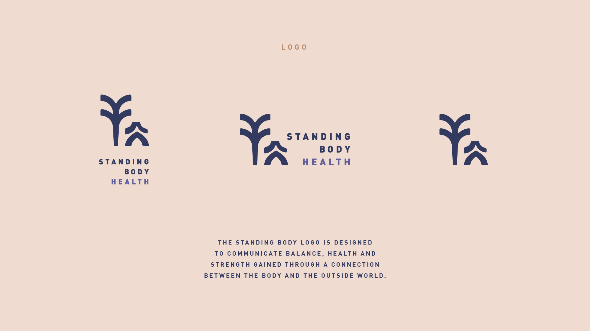 Standing Body logo variations