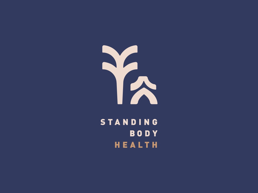 Standing Body logo design