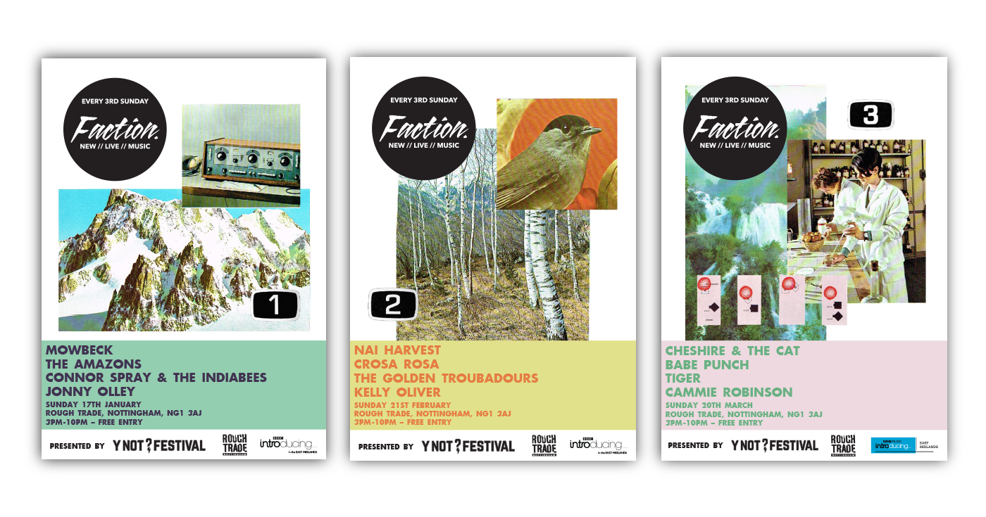 Faction Poster Design