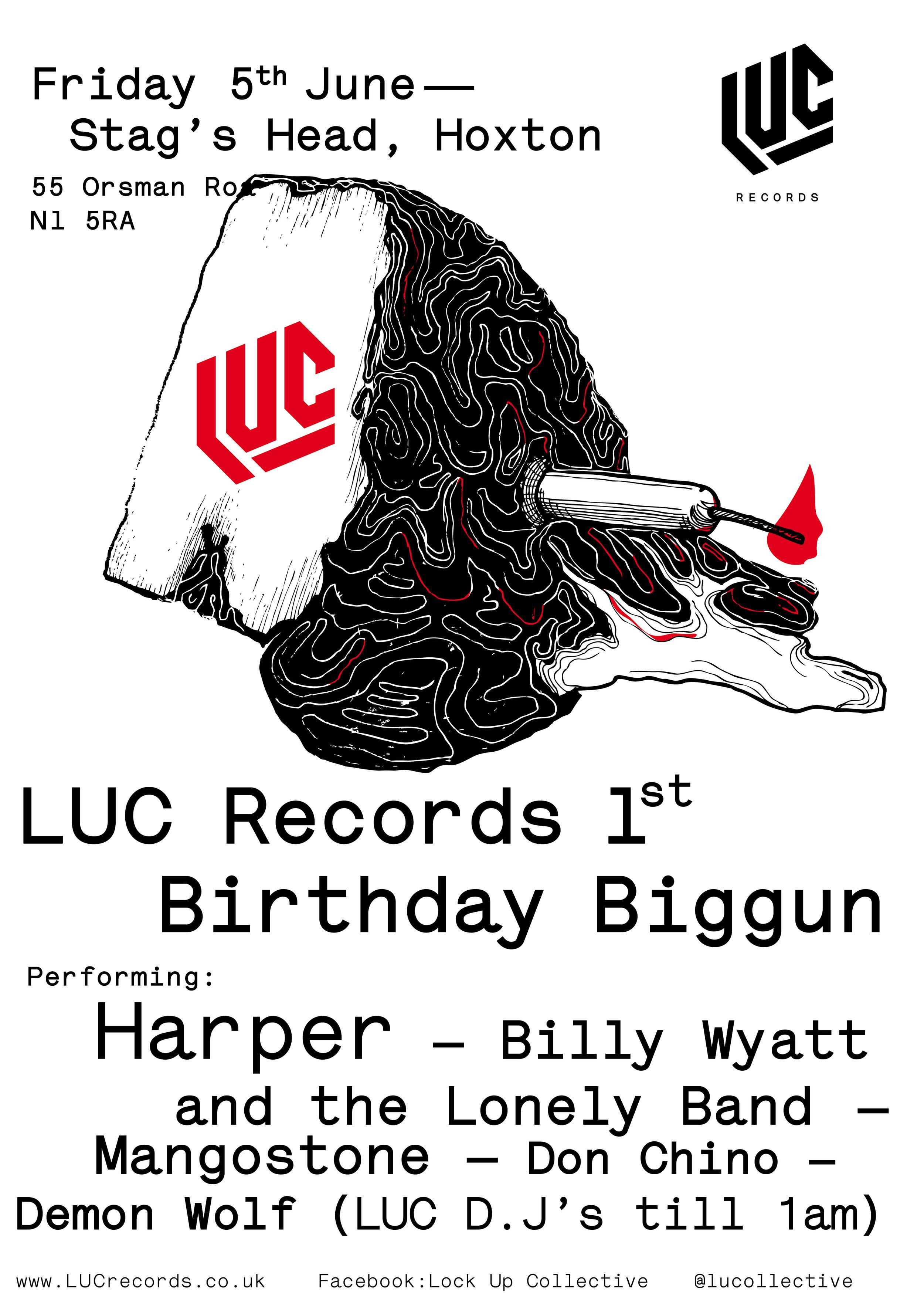 Luc Poster Design