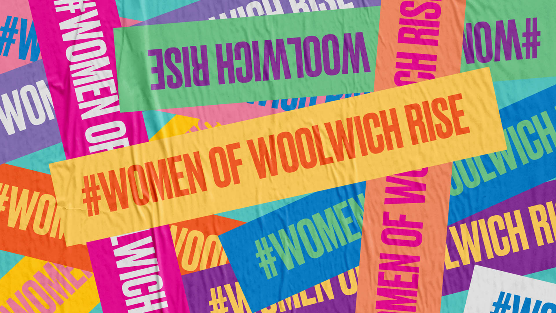 Women of Woolwich Poster design