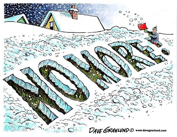 Anyone else? #snow #nomore