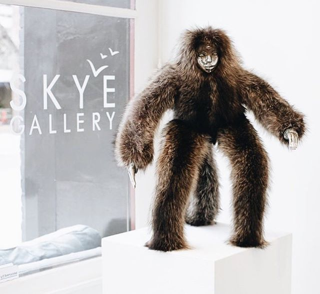 Well, @spencerblamo is out of here & we're sad to see him go; but we are certain of his return! We love your work... & great job to @skyegalleryaspen for always choosing such special artists to show!! 🔲 #AspenArtCollective ✖️ #GrayDigital ・・・ A big thank you to everyone at @skyegalleryaspen and the community in Aspen, CO. We've had such great support through the last few months. Looking forward to showing here again. #spencerhansenart #skyegalleryaspen
