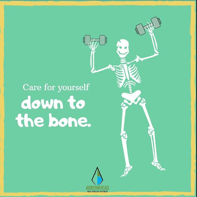Weight bearing exercise, peeps!! It can help prevent bone density loss from treatment (and aging). ▫️ Resistance exercises, jumping, and jogging are all great ways to preserve that bone density. 🌿 Load 'em up!