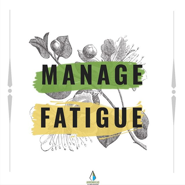 Physical activity can reduce fatigue. Working toward a goal of 150 minutes of moderate activity a week will help get you there. ▫️ There are no medications more effective or even as effective as being active is for helping manage fatigue.