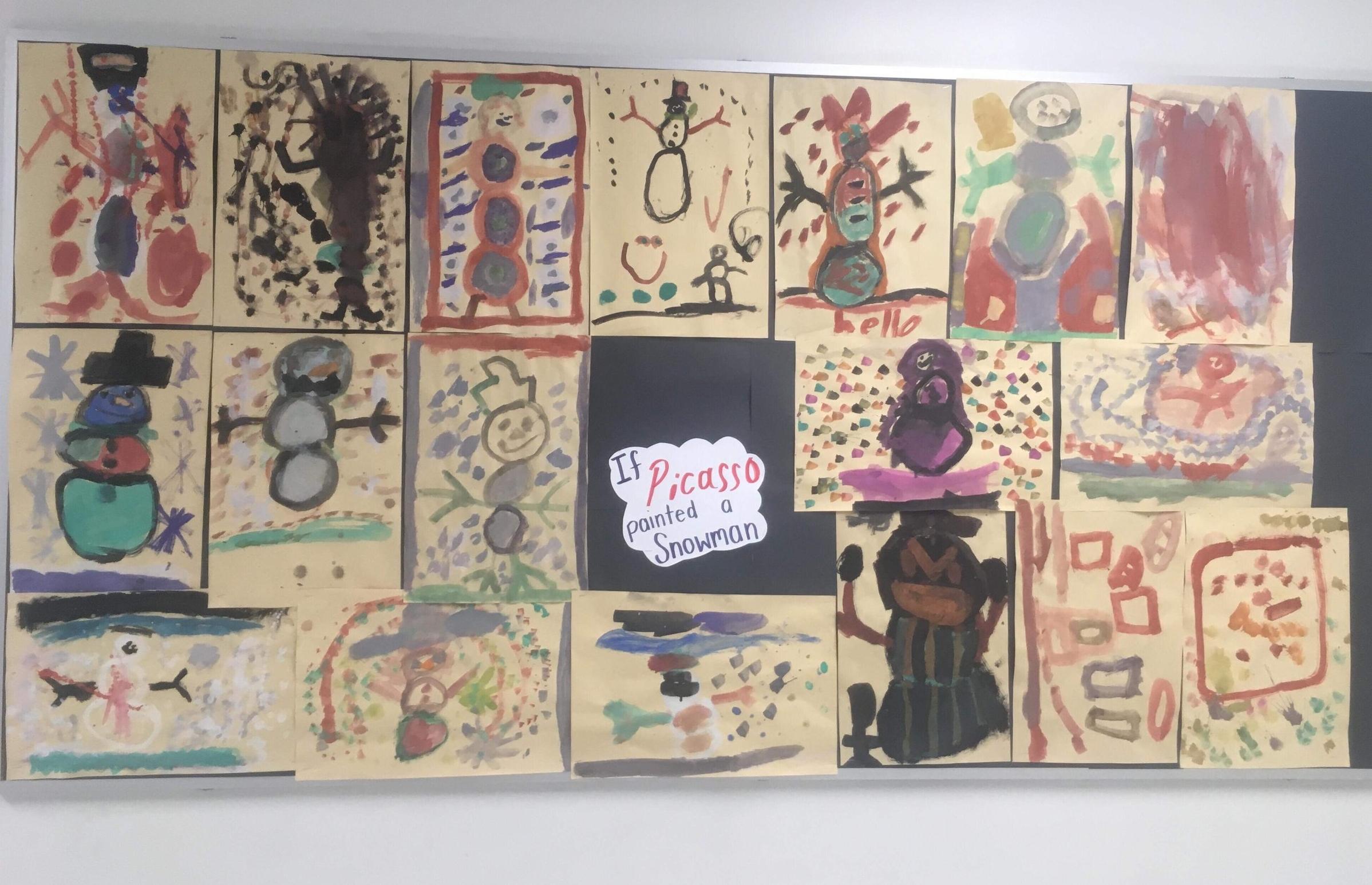Art from a class.