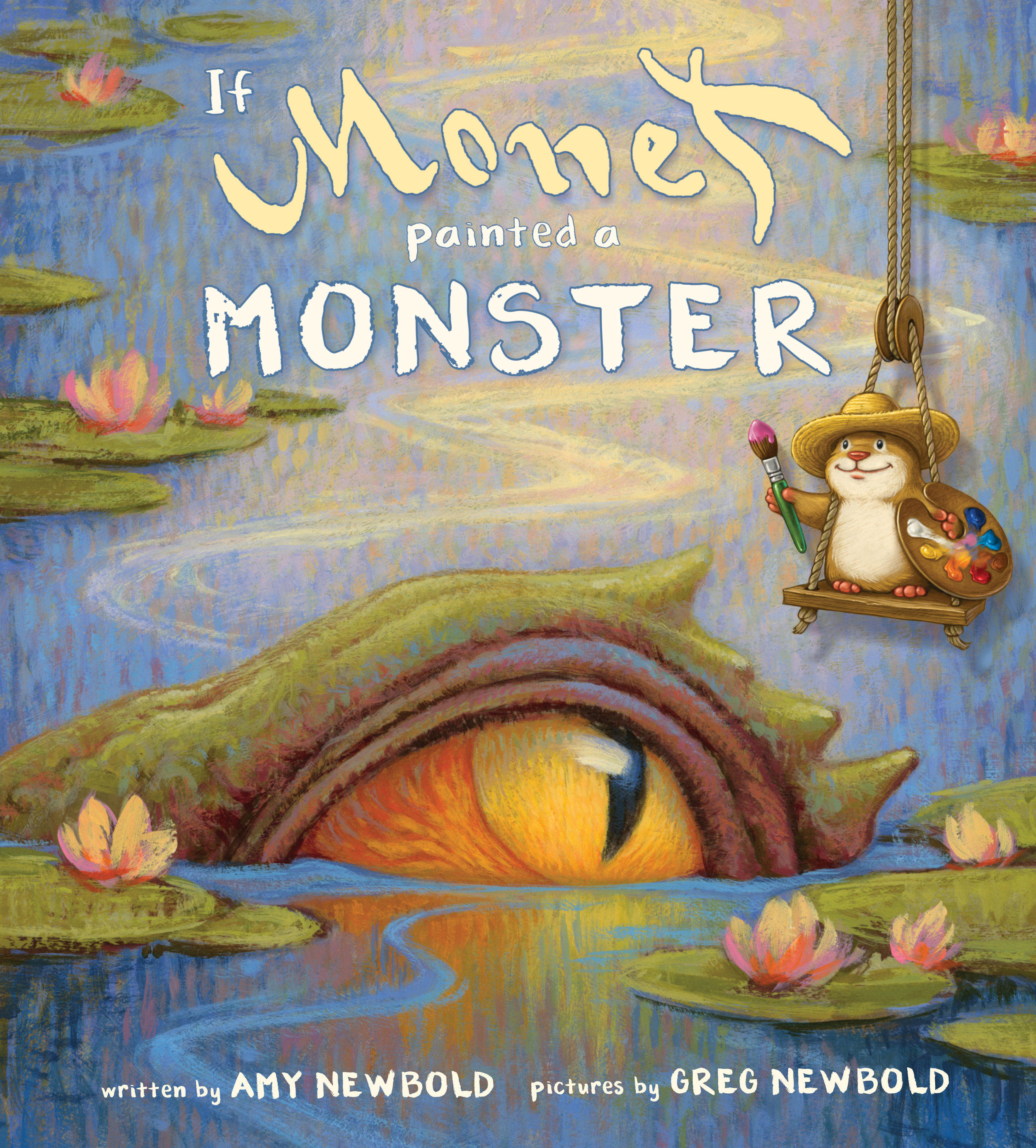 If Monet Painted a Monster cover
