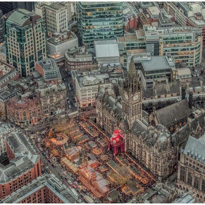Manchester Christmas xmas Market