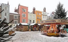 Oxford Christmas xmas market