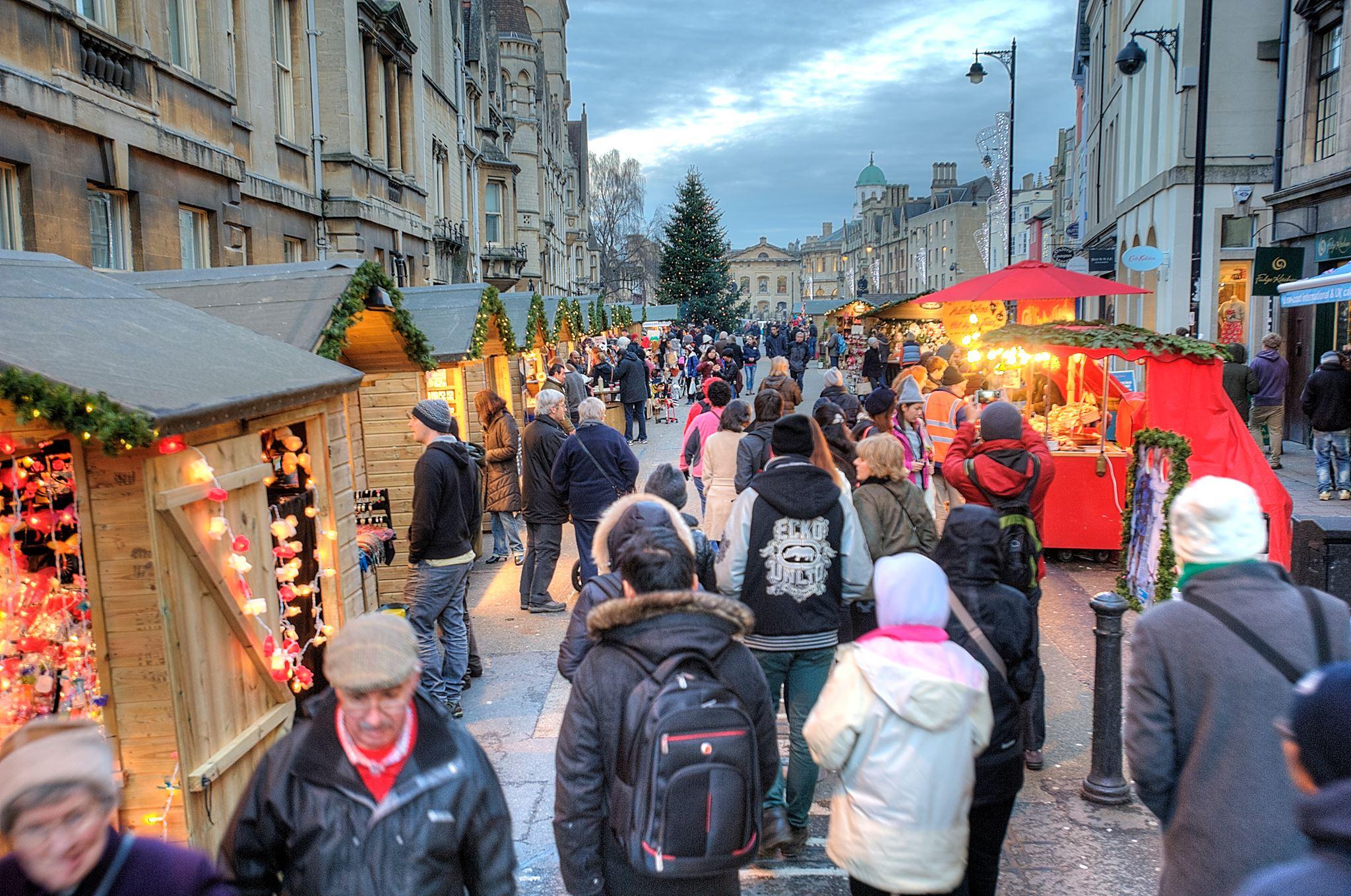 oxford christmas market uk