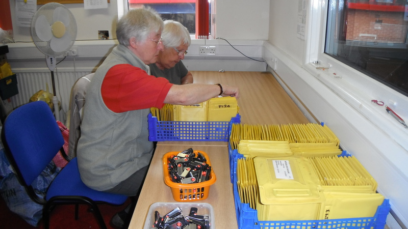 Copiers preparing to mail out the USB sticks containing the latest show