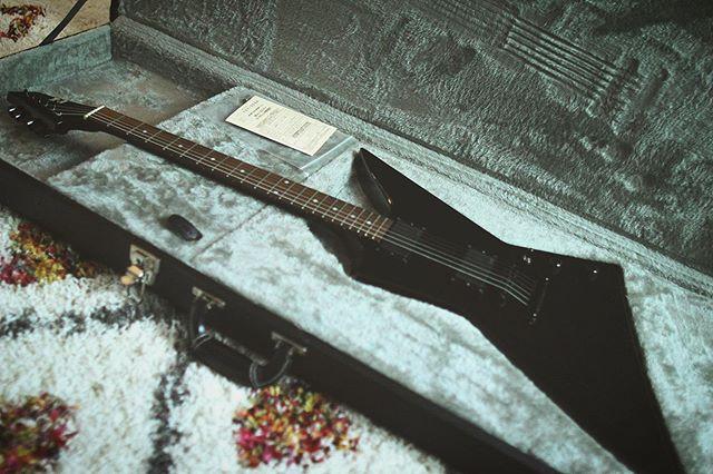 The new arrival! E-II EX! Amazing guitar 🤘🏻 • • • • #metal #metalguitar #deathmetal #melodeath #melodicdeathmetal #thatrug #esp #espguitars #emg #emgpickups #blackmetal #melodicblackmetal #AMDM #americanmelodicdeathmetal