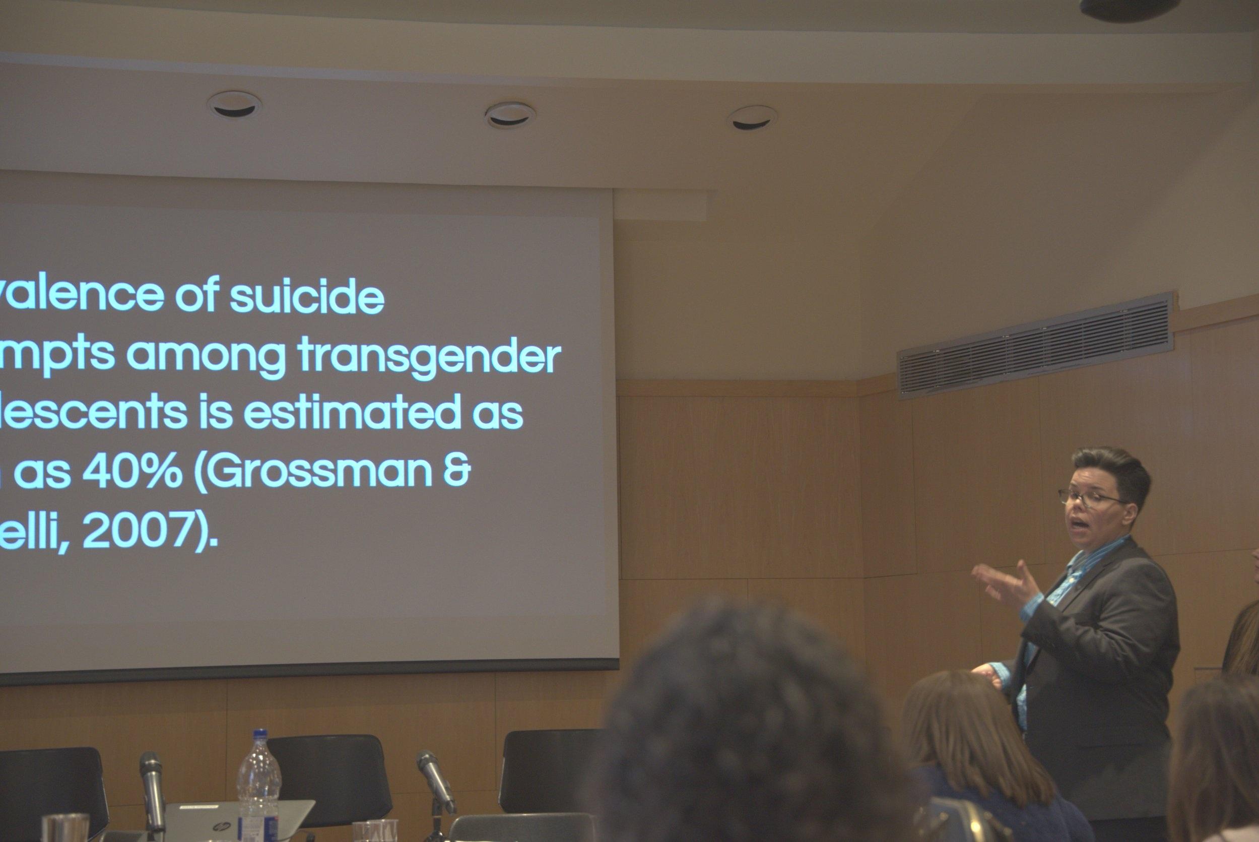Director of Education, Dr. Jan Kaminsky delivering our course RHC 3: Caring for the Transgender and Gender Fluid Patient.
