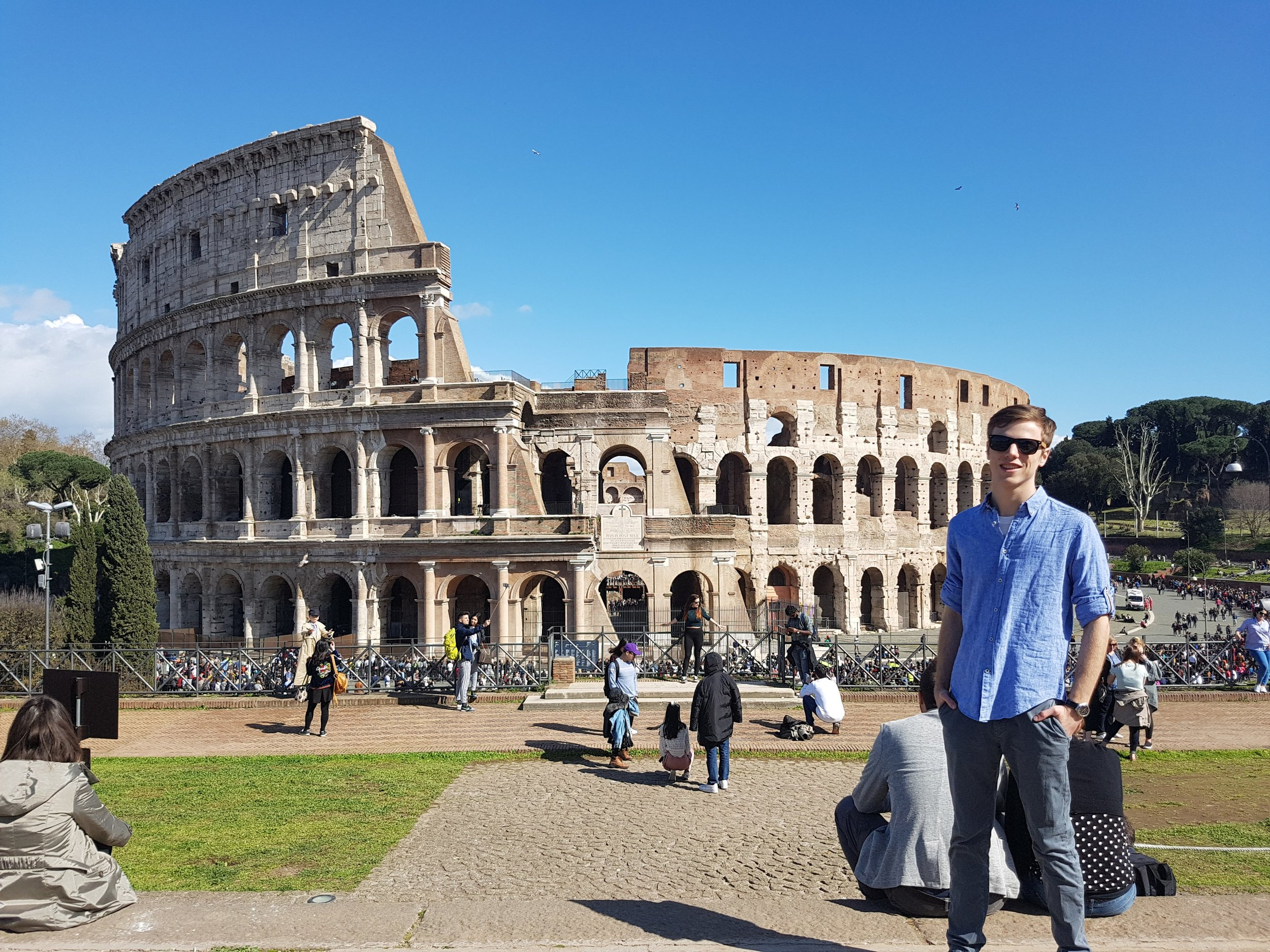 Rome, Italy. 2018.