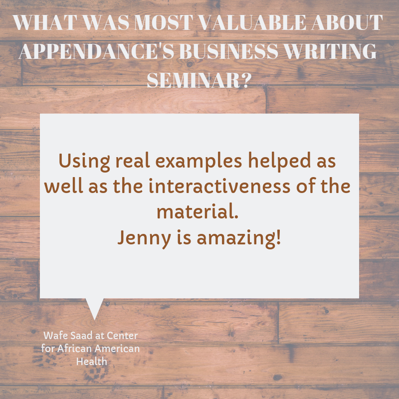 WHAT WAS MOST VALUABLE ABOUT APPENDANCE'S BUSINESS WRITING SEMINAR?-3.png