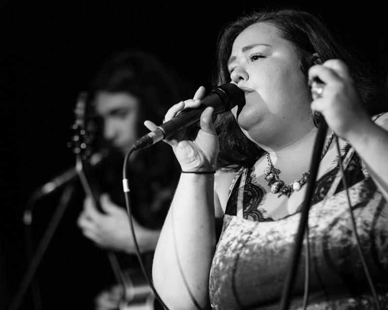Vocals & ukulele / sarah Greco -