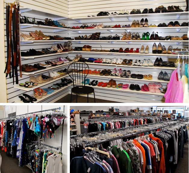 High quality shoes and clothing at a bargain price!