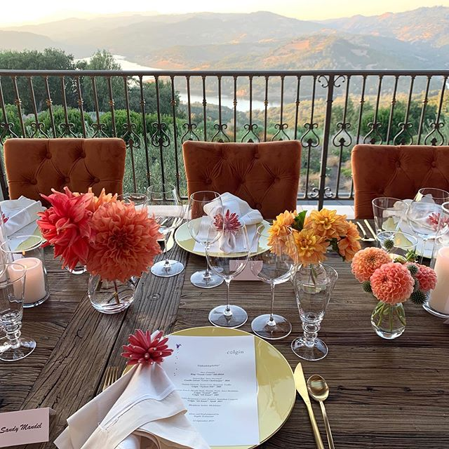 Amazing off-sight dinner last night. Thank you @colgincellars for inviting us. #events #angelerestaurant #visitnapavalley #winecountry