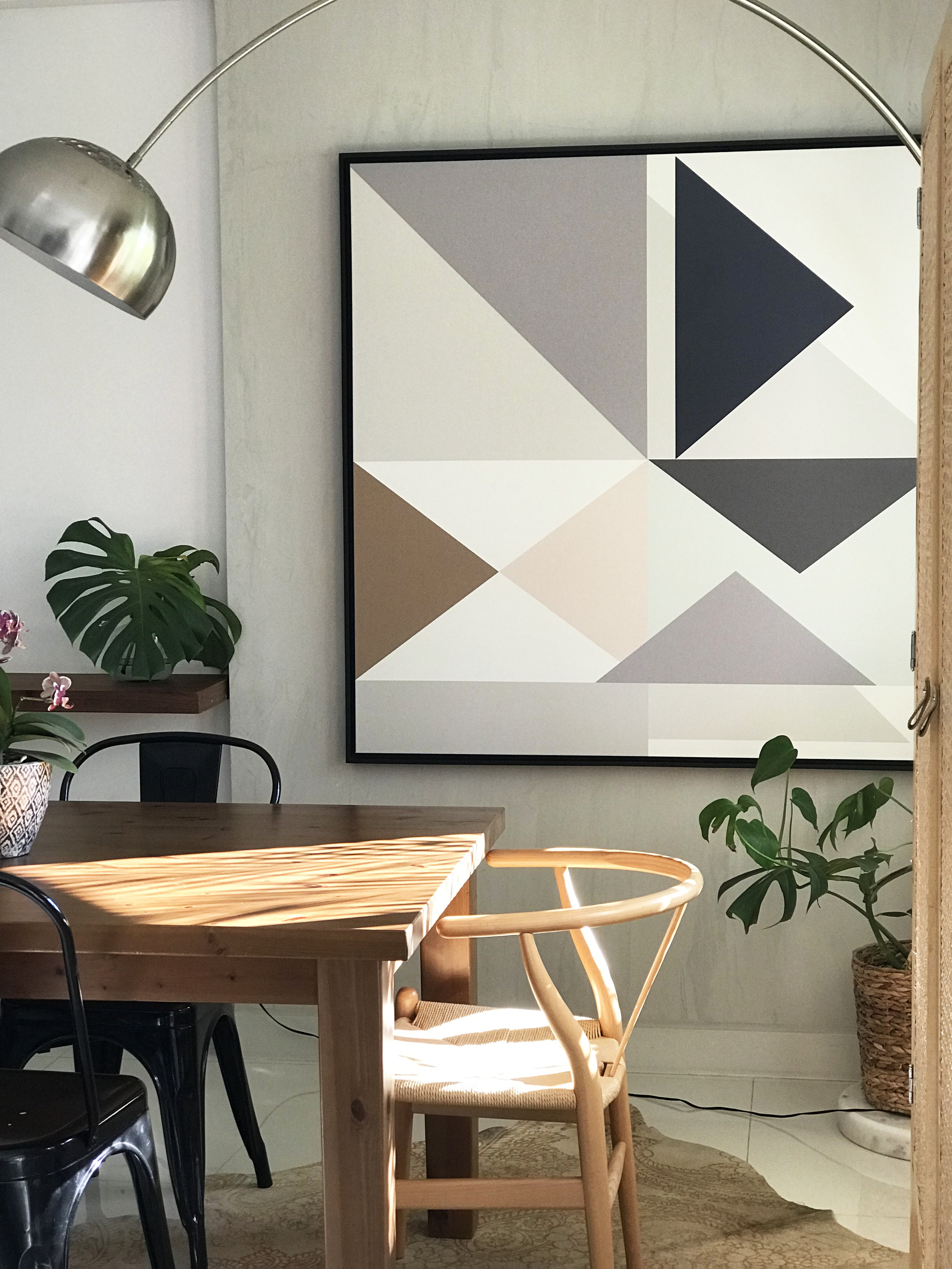 Arrows - paleta pastel 1,30 x 1,30m  PROJETO nara maitre