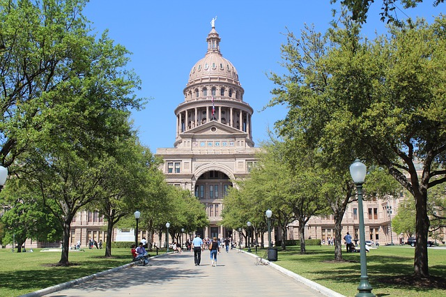 Texas state capitol building, Austin, Texas