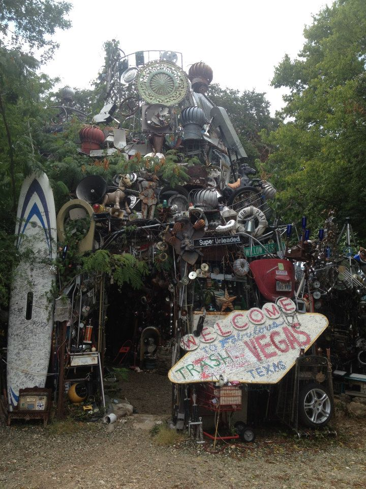 Cathedral of Junk, Austin, Texas