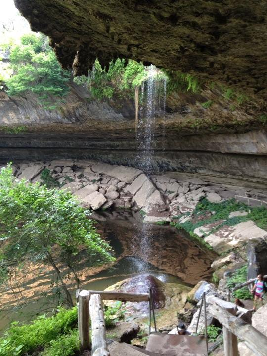 Hamilton Pool, Dripping Springs, Texas (picture: Brent Petersen)