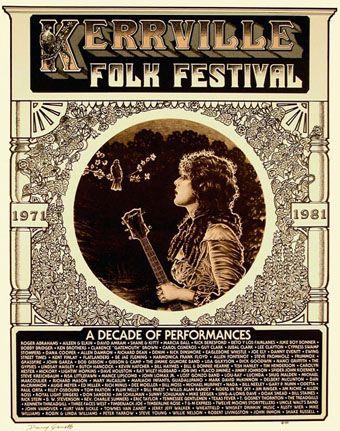 1981 Kerrville Folk Festival Poster