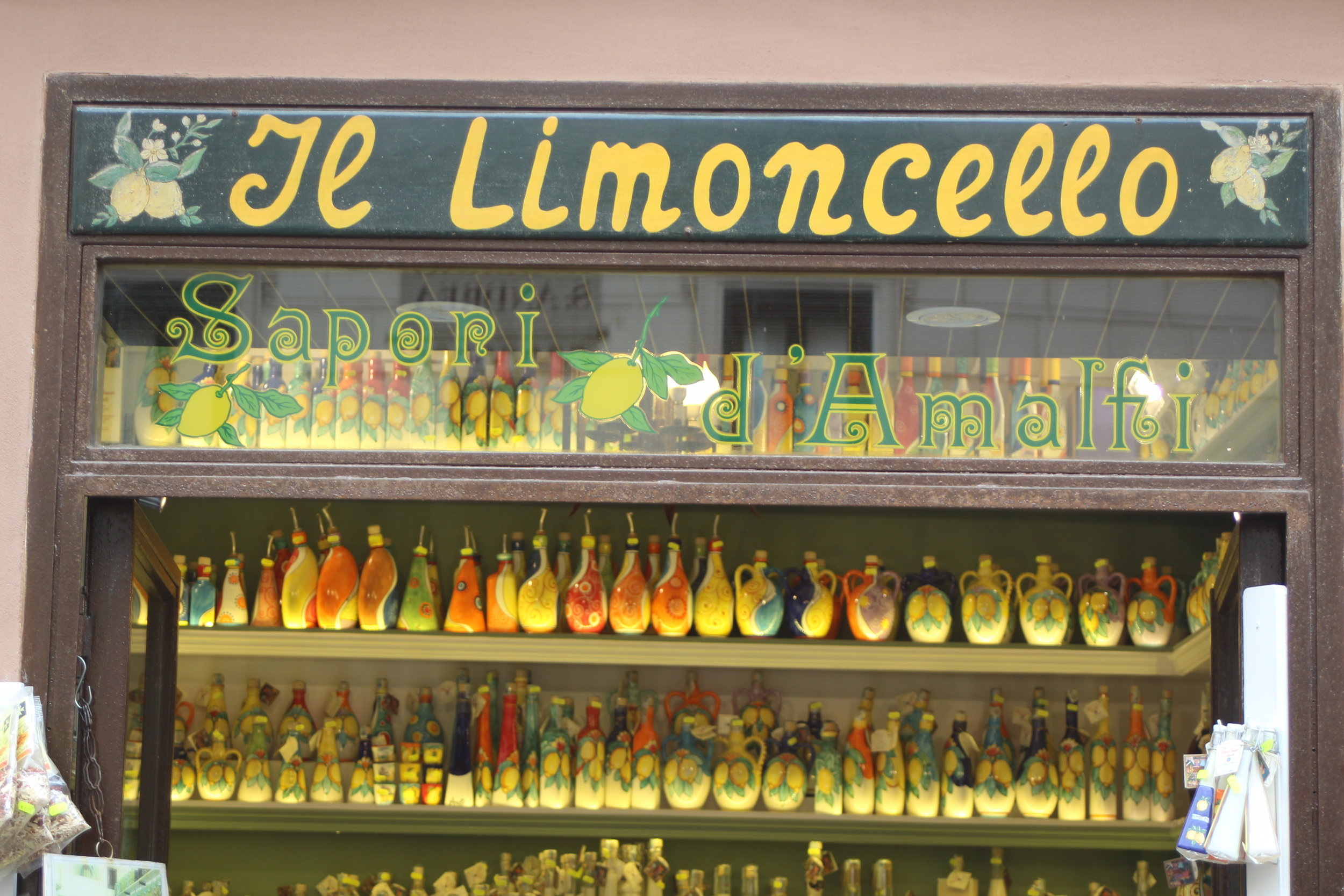 The best limoncello shop in Amalfi, Italy