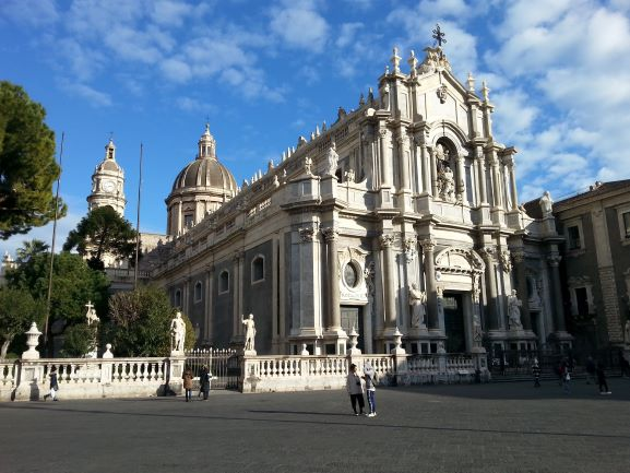 Cathedral of Saint Agatha, Catania, Sicily (photo: Brent Petersen)
