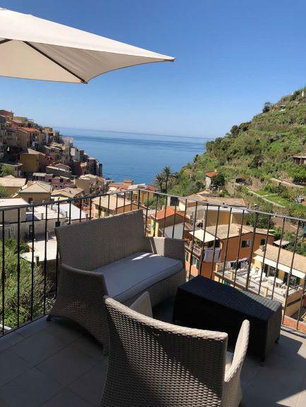 Terrace at La Torretta