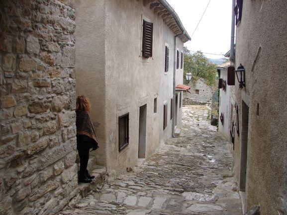 Tiny and quaint Hum, Croatia (photo: Brent Petersen)