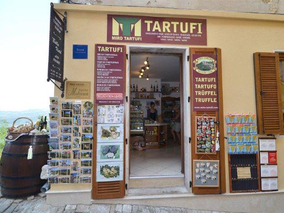 Truffle shop Miro Tartufi
