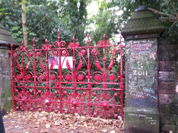 Gate at Strawberry Field