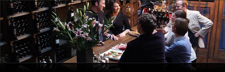 Movia wine bar in Ljubljana