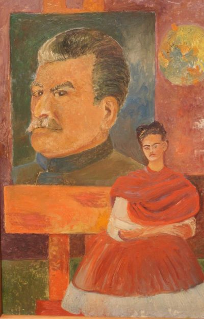Self Portrait with Stalin