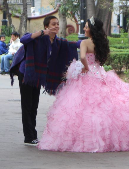 Quinceañera, interrupted