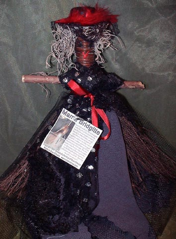 Broom Doll at Voodoo Authentica, New Orleans