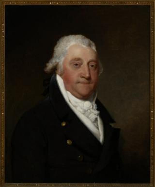 American painter Gilbert Stewart's work on display at the RISD Museum