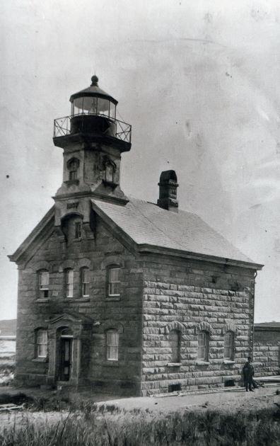 Block Island North Lighthouse postcard