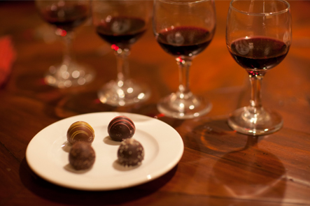 Biltmore wine and chocolate tasting tour