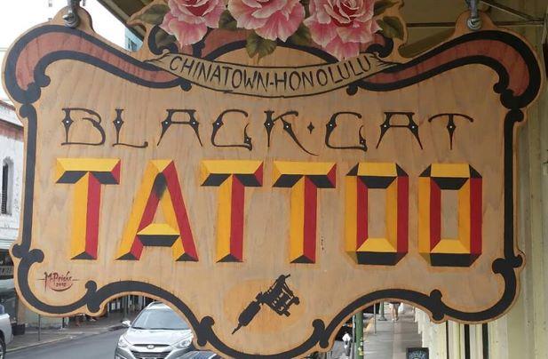 Honolulu Black Cat Tattoo.jpg