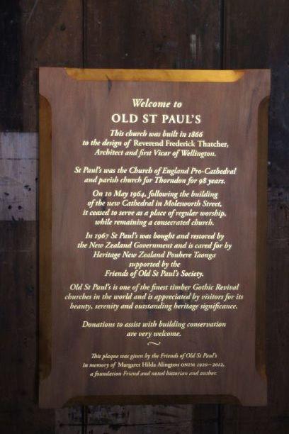 Wellington Old St Paul church sign.JPG
