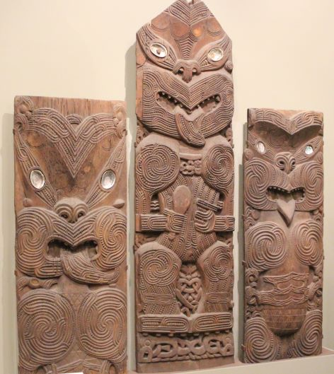 Part of the Māori exhibit at the Canterbury Museum in Christchurch, New Zealand