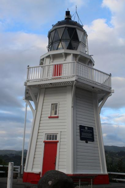 Akaroa lighthouse, New Zealand (photo: Brent Petersen)