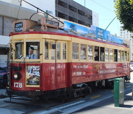 Christhcurch Tram
