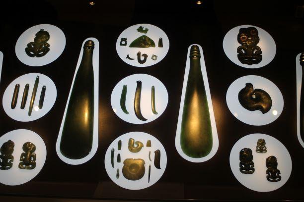 Canterbury Museum jade exhibit, Christchurch, New Zealand
