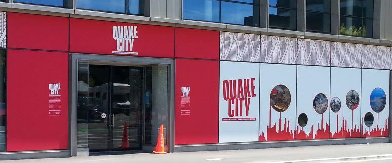 Quake City, Christchurch, New Zealand (photo: Brent Petersen)