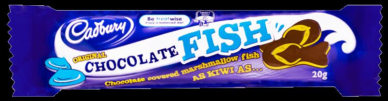 Cadbury's Chocolate Fish